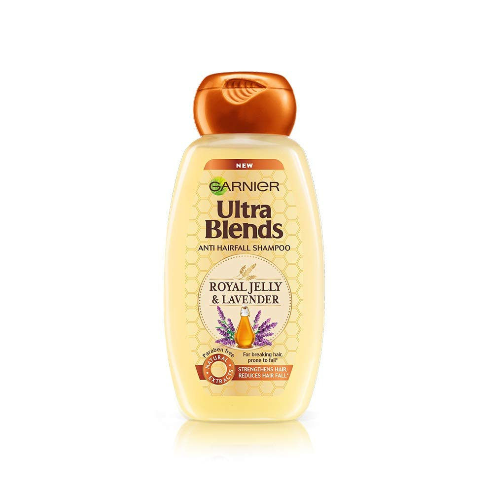 Garnier Ultra Blends Anti Hairfall Shampoo Royal Jelly & Lavender