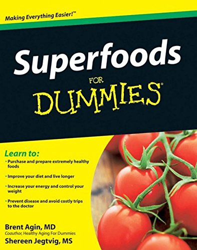 Superfoods Dummies Brent Agin product image