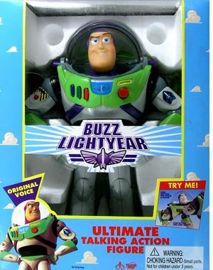 Toy Story > Ultimate Talking Buzz Lightyear Large Doll for $<!---->