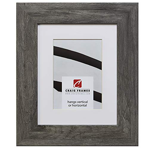 - Craig Frames 74030 20 x 24 Inch Faux Gray Barnwood Picture Frame Matted to Display a 16 x 20 Inch Photo