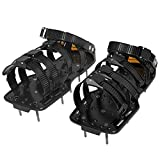 Kyпить Sharkk Plastic Spiked Lawn Aerator Shoes – 5 STRAPS Universal Size with 3 Adjustable Straps and Metal Buckles – Heavy-Duty for Greener, Healthier Yard and Grass на Amazon.com