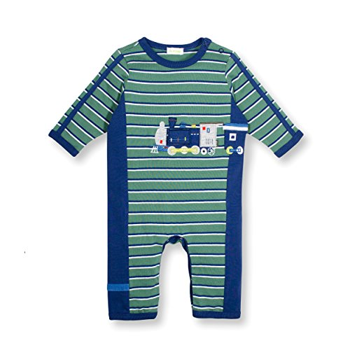 Le Top On Track Baby Boy Train Coverall -6M
