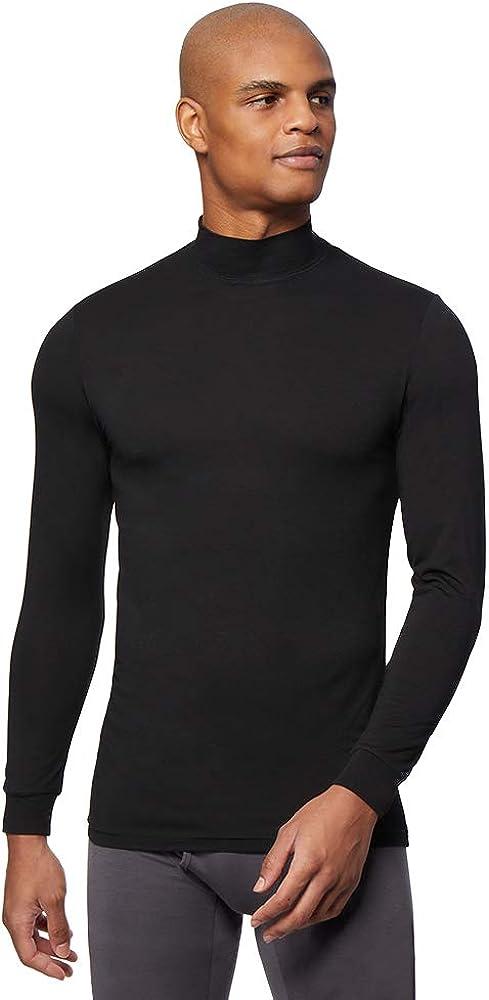 32 DEGREES Mens Heat Performance Thermal Baselayer Mockneck Long Sleeve Top