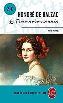 La Femme abandonnée par Balzac