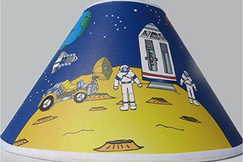 Outer Space Lamp Shade / Children's Nursery Space Decor