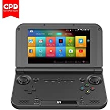 GPD XD Plus 5 Inch 4 GB/32 GB MTK 8176 Hexa-core Handheld Game Console gameplayer Laptop (Black)