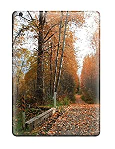 Flash-Men Ipad Air Well-designed Hard Case Cover Beautiful Autumn Protector