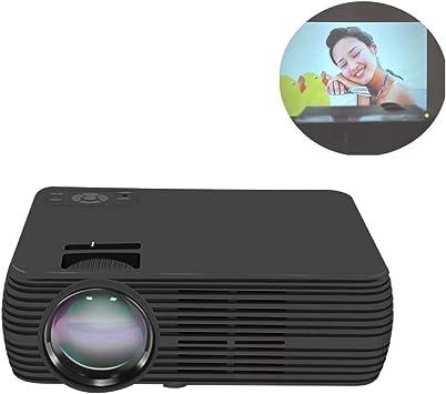 GJZhuan Proyector Home Cinema Proyector LED pequeño (Color ...