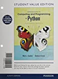 Introduction to Computing and Programming in Python, Guzdial, Mark J. and Ericson, Barbara, 0133591530
