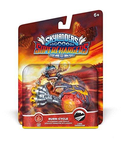 Skylanders Superchargers – Vehicle – Burn Cycle /video Game Toy
