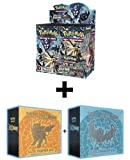 Pokemon TCG: Ultra Prism Sun & Moon Booster Box +BOTH Elite Trainer