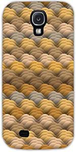 Snoogg Interminable Textura En Colores Cálidos Diseñador Protectora Volver Fu...