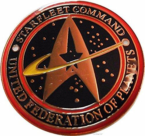 (Star Trek Series Starfleet Command United Federation of Planets Pin)