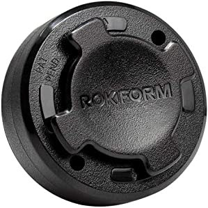 Rokform RokLock Universal Phone Mount Holder, Sticks to Car, Wall or Any Flat Surface, Works with Rokform mountable Cases