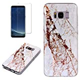 for Samsung Galaxy S8 Plus Marble Case with Screen