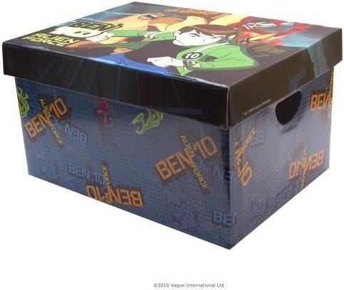 Vogue Ben 10 Caja de Almacenamiento de cartón: Amazon.es: Juguetes y juegos