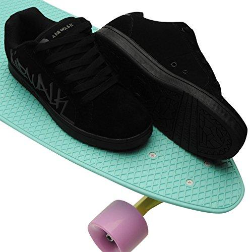 Airwalk schwarz Airwalk schwarz Jungen Jungen Skateboardschuhe zqz6T8w