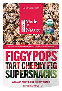 Made in Nature Organic Figgy Pops, 16 Ounce