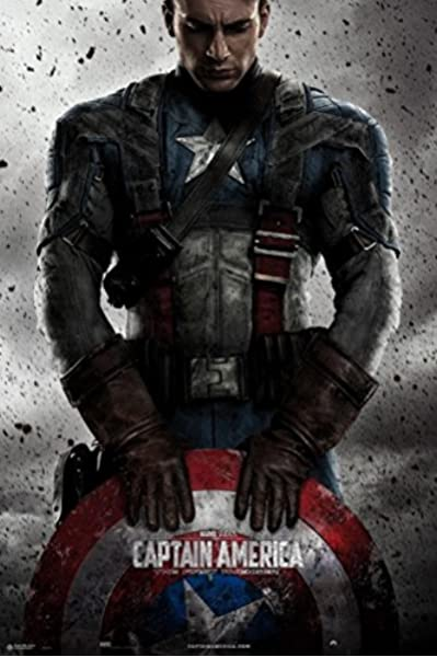 Grupo Erik Editores Poster Marvel Capitan America: Amazon.es ...