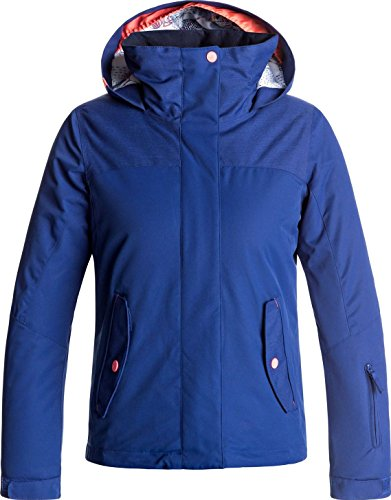 Roxy Big Girls' Jetty Solid Snow Jacket, Sodalite Blue, 16/XXL by Roxy