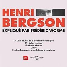 Henri Bergson Discours Auteur(s) : Frédéric Worms Narrateur(s) : Frédéric Worms