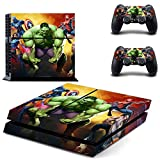 Avengers Age of Ultron ps4 skin decal for console and 2 controllers