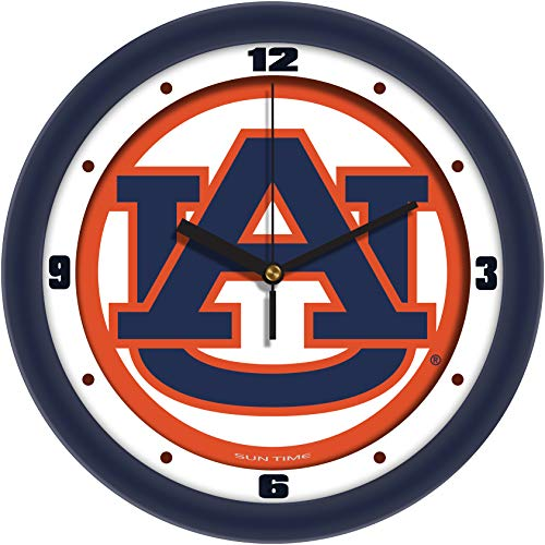 Auburn Tigers - Traditional Wall Clock