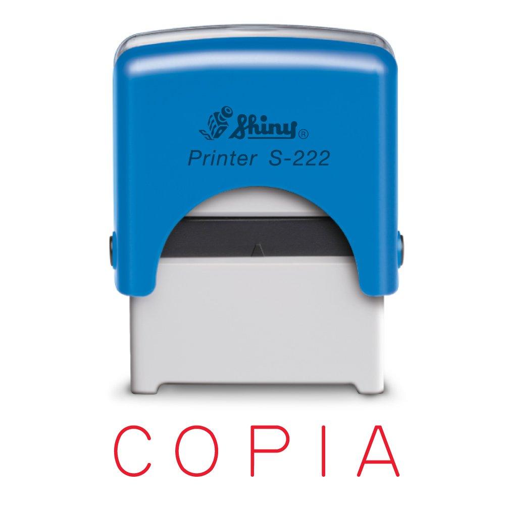 Timbro Shiny Printer - Timbro Autoinchiostrante, S-222 (COPIA) Grafilandia