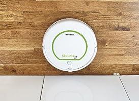 Ariete 2711 2711-Asporador Robot (1300 W, 6 programas, 33 cm/s, Filtro de Salida, 2 cepillos, Pantalla LCD), Blanco y verde, 25 W, 69.4 Decibelios: Amazon.es: Hogar