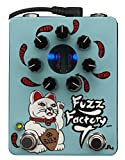 ZVex Fuzz Factory 7 Fuzz Pedal - Limited Edition Hand Painted, Gold