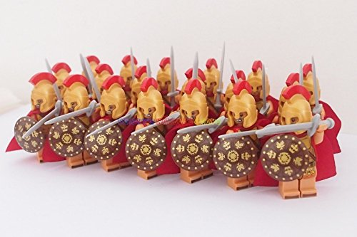 Killer Needle (20 x Minifigures Roman Soldiers Warriors with Weapons)