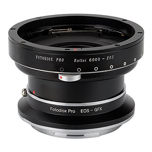 Fotodiox Pro Lens Mount Double Adapter Rollei 6000  Series a