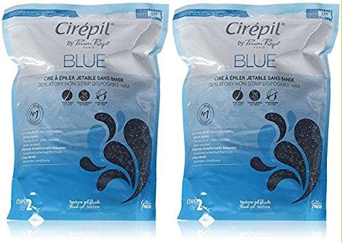 Cirepil Blue Wax Refill, 28.22 Ounce Bag - 2-Pack