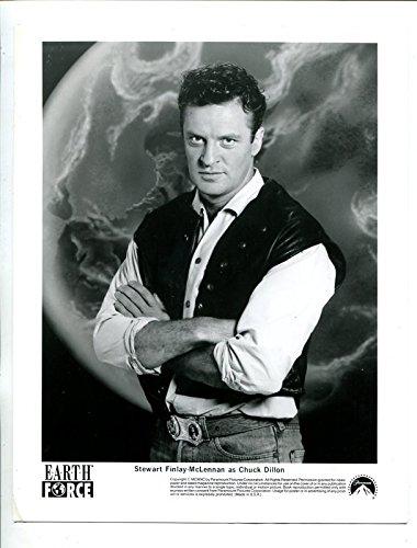 E.A.R.T.H. Impel -Stewart Finlay-McLennan-8x10-Promo-Still-B&W-Sci-Fi-NM
