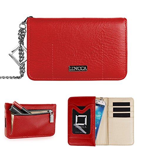 Lencca Kymira Wristlet Wallet Clutch For Samsung Galaxy Core LTE / S3 Neo / Beam 2 / K Zoom / Light / Zcover 2 / Star / S II Plus / Ring Smartphone