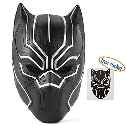 Trippy Lights New Black Panther Movie Latex Halloween