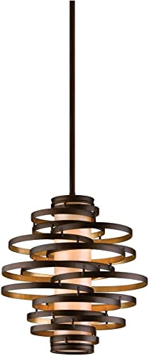 Corbett 28574340 Vertigo Lighting, 26.5 L x 18 W x 18.5 H, Bronze Dark