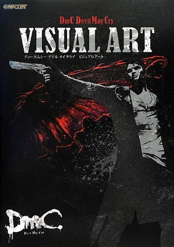 Image of Dmc Devil May Cry Official Visual Art Book Japan Works Design Dmc Ps3 Xbox 360
