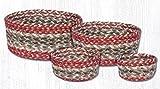 Heart of America Olive Craft-Spun Table Basket Set of 4
