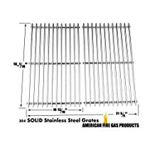 Centro 2800, 85-1614-2, 85-1650-4, G41201, G41202 & Cuisinart 85-3030-8 C560S G41208 Stainless Steel Grates, Set of 2
