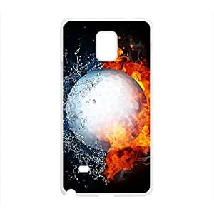 Fire Water Ball Hot Seller High Quality Case Cove For Samsung Galaxy Note4
