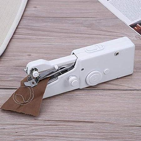 Máquina de coser a mano Hogar portátil Aguja de coser rápida Ropa ...