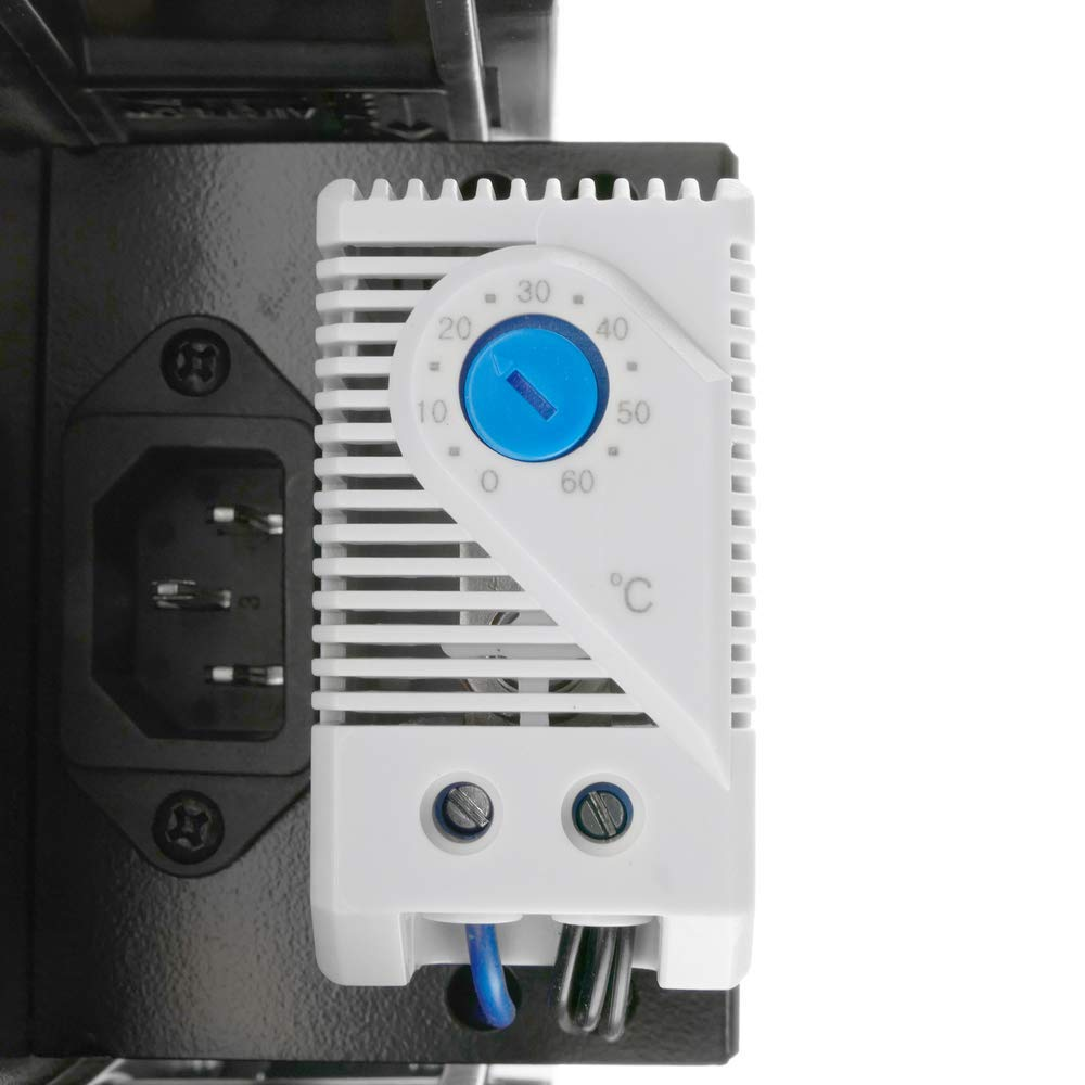 Top cover with 4 fans for rack cabinet MobiRack MobiRackHQ with thermostat RackMatic