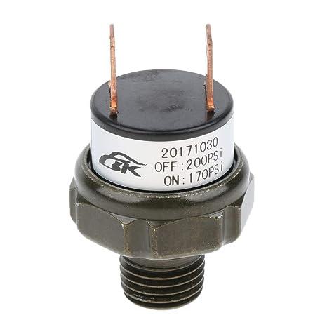 Sharplace Compresores para Aplicaciones de Bocina de Aire y Suspensión de Auto - Negro 170-