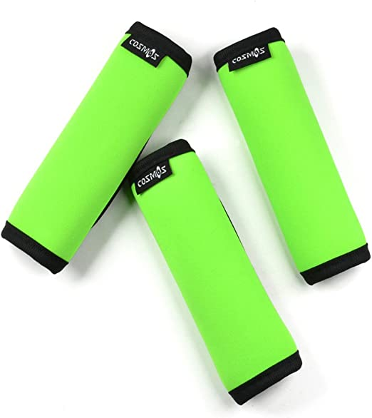 4 pcs Neoprene Handle Wraps Grip Cover Identifiers for Travel Bag Luggage Suitcase