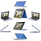 """mCover Hard Shell Case for 13.3"""" Dell Inspiron 13 7000 Series ( 7347 / 7348 / 7359 only) (**Not for 7368/7559**) 2-in-1 Convertible Laptop (Blue)"""