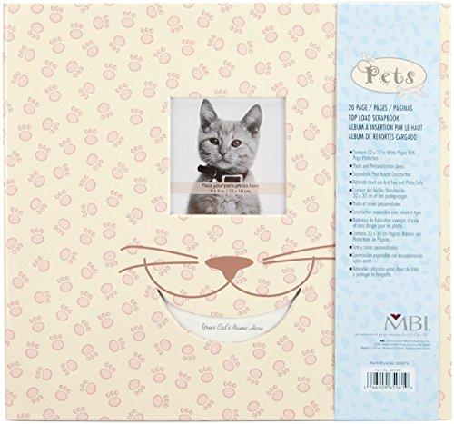 Mbi Pet Post Bound Album W/Window 12x12-Cat (Album Pet Postbound)