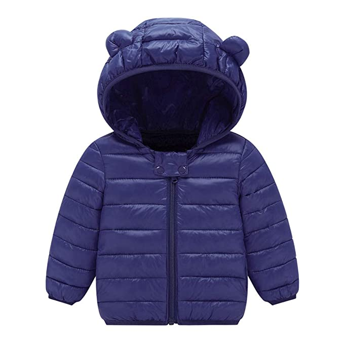 ASHOP Ropa Bebe Otoño Invierno, Niña Niño Impermeable Abrigo Chaqueta con Capucha de Nieve 0-4 años: Amazon.es: Ropa y accesorios