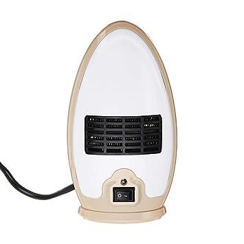 DGEG Calefactor, Mini Termoventiladores, Calentador de Aire Caliente eléctrico Estufa de Ventilador para el