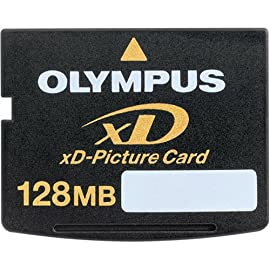 Olympus 200843 128 MB xD-Picture Card 6 128MB Olympus XD-Picture Card Olympus xD-Picture Card Designed for maximum durability